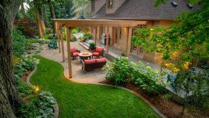 Garden Paving Stank